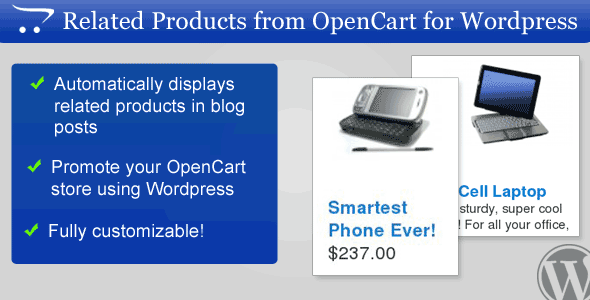 Related Products from OpenCart for WordPress