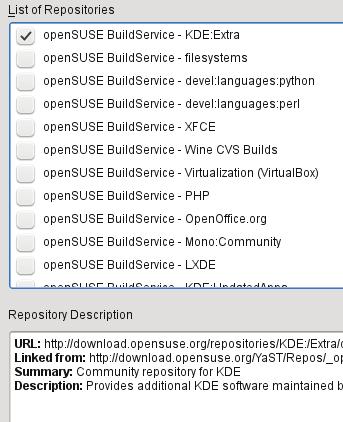 Adding community repositories in YaST | Abdussamad com